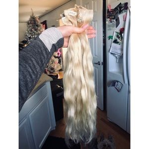 Luxy clip in hair extensions